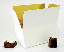 Ballotin, 500 gr. Whiteshine - gold