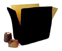 Ballotin, 500 gr. noir laque