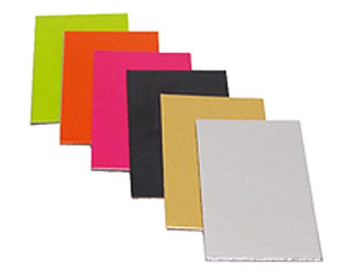 Cardboardsheet 58x48mm / 200pcs goldshine
