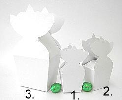 krooncornet small 50x30x50mm crystal