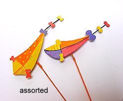 vlieger met stick assorted
