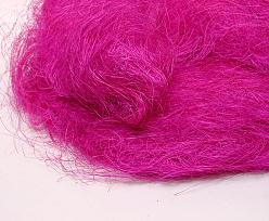 Sisalgras appr. 250 gr. in bag pinkfuchsia