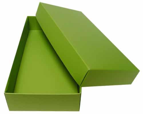 Sleeve-me box without sleeve 183x93x30mm interior kiwi green