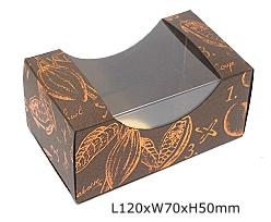 Box gondola cacao, bronztwist