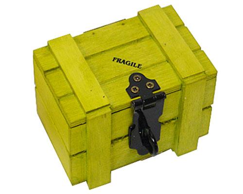 Crate Wood small, lemon