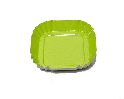 Bordje square 55x55mm green