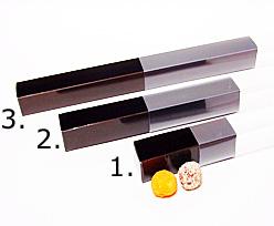 truffelbox 12 339x30x30mm chocolat laque