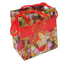 Sugar saint paperbag small red