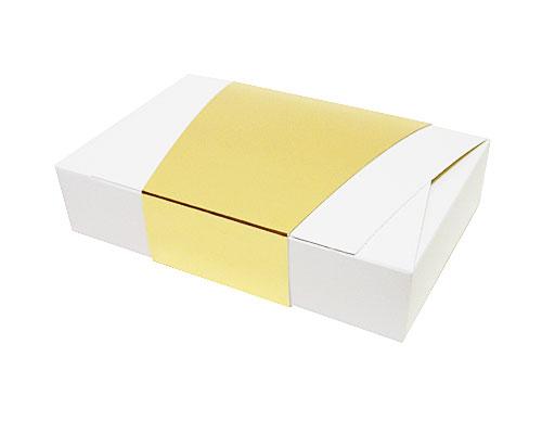 Ballotin enveloppe 184x117x35mm white shine