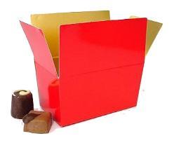 Ballotin, 125 gr. rouge laque