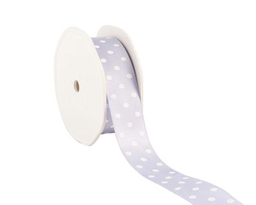 Ribbon dots 23mm/20mtr. col.82 lavendel