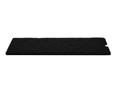 Cushion pad 235x92mm black