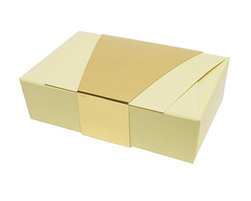 Ballotin enveloppe 142x90x35mm creme laque