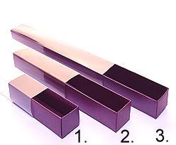 truffelbox 12 339x30x30mm aubergine
