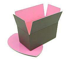 Ballotin, 250gr. Duo Hollywood taupe-pink
