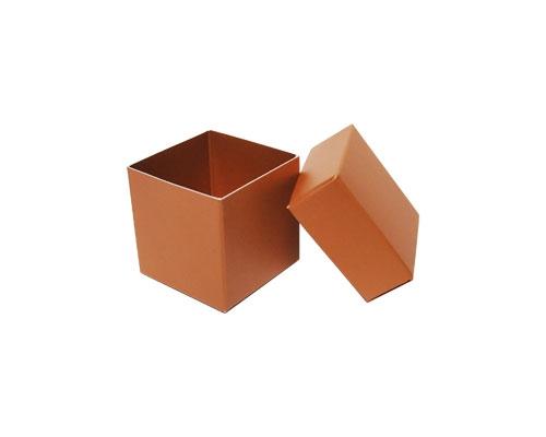 Cubebox 50x50x50mm hazelnut