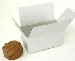 Box 2 choc, silvertin