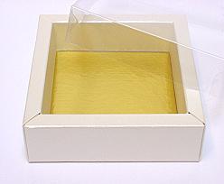 Windowbox 90x90x30mm interior ivorytwist