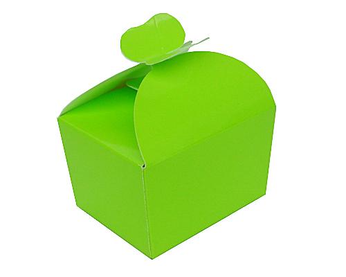Box 250 gr  butterfly vert pomme laque