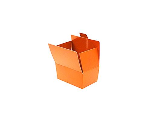 Ballotin with side closing, 125 gr. sunset orange