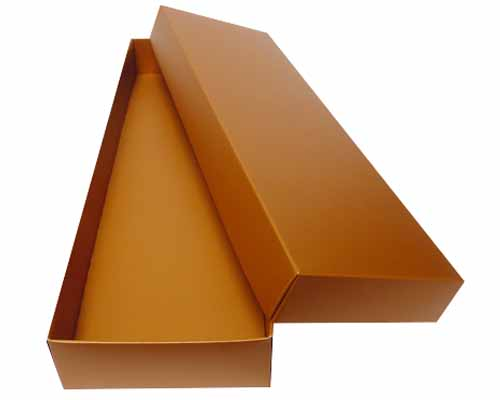 Sleeve-me box without sleeve 280x93x30mm interior hazelnut
