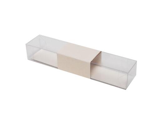 PVC L150xW30xH25mm seashell with sleeve
