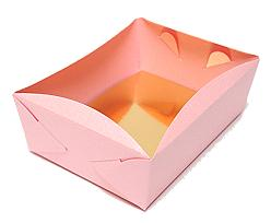 patisserie tray min. total quantity 600 pcs! /in m pink