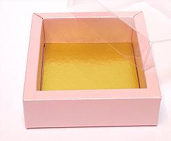 Windowbox 90x90x30mm interior pink