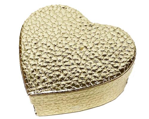 Box heart small gold