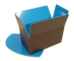 Ballotin, 500gr. Duo Kreta brown-blue
