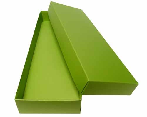 Sleeve-me box without sleeve 280x93x30mm interior kiwi green
