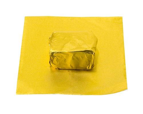 alu sheet 600x400mm goldyellow No. 24 /100 sheets