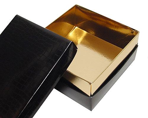 Balloboîte black carré L125xW125xH50mm sidney