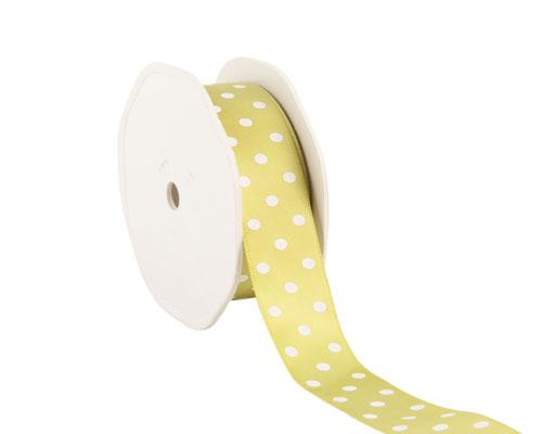 Ribbon dots 23mm/20mtr. col.24 green