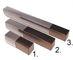 truffelbox 4 112x30x30mm bronztwist
