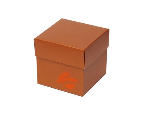 Cubebox Autumn figures 250 gr. hazelnut