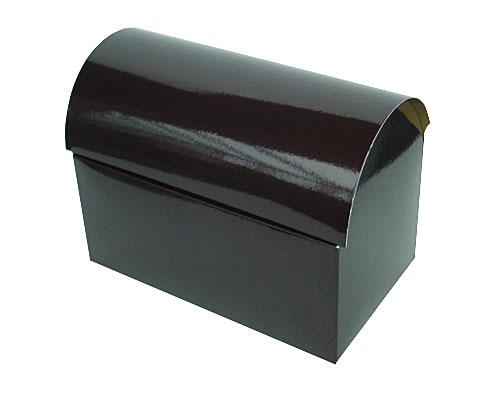 koffer 1000gr 195x115x135mm chocolat laque