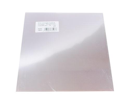 PVC sheet for luxbox 165x165mm / pack 24 pcs