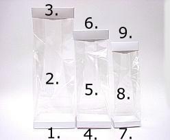 Arosabase 100x60x17mm crystal
