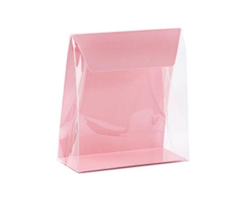Pochette transparant L130xW50/H140mm lotus