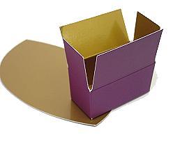 Box 2 choc, Duo Djerba purple-copper