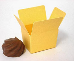 Box 1 choc, goldyellow