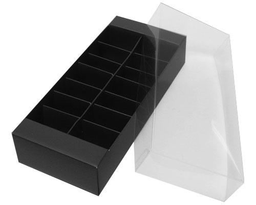 Macaron box 14 division black