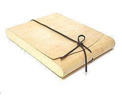 Etuibox large flat Wood natural