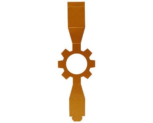 Sleeve cog-wheel hazelnut for sleeve-me box