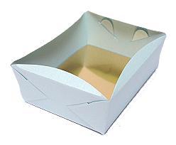 patisserie tray min. total quantity 600 pcs!/in m l.blue