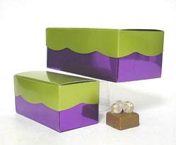 Golfdoos 500gr 165x90x60mm purple kiwi