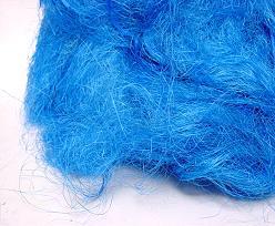 Sisalgras appr. 250 gr. in bag  blue