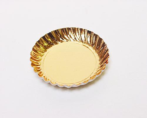 Bordje rond dia 55mm gold