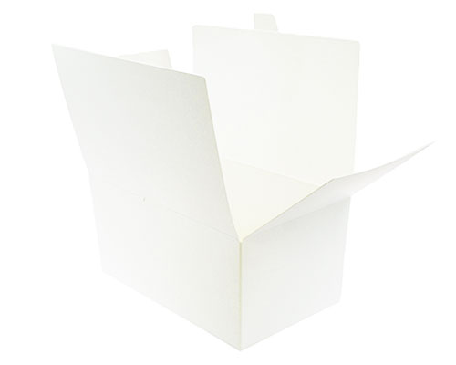 Ballotin with sideclosing, 1000 gr. white
